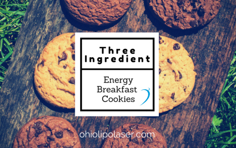 "Three Ingredient ""Energy Breakfast Cookies"""